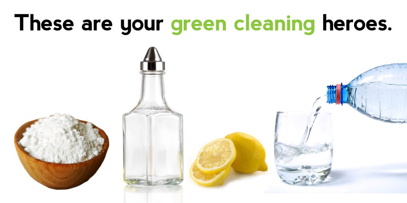 Homemade Green Cleaning Products