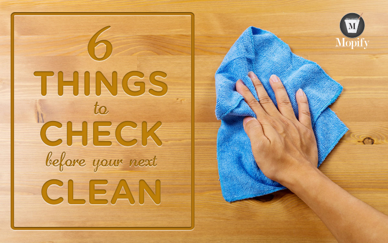 What to do before your house cleaner arrives