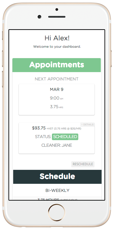 Mopify Online Cleaning
